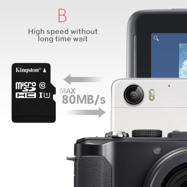 Micro SD Card With Card Adapter