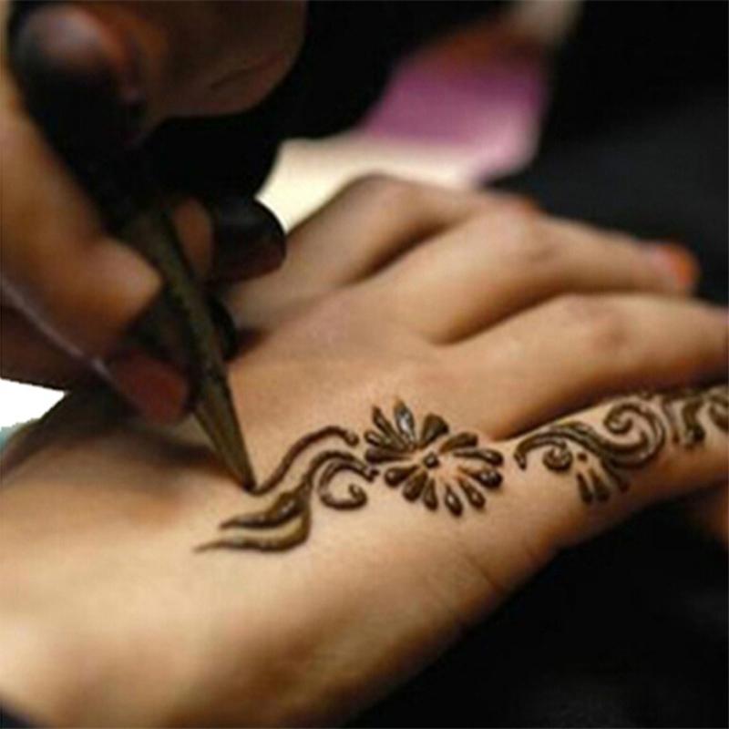 Henna Tattoo Paste Cost: Paint Mini Natural Indian Tattoo Henna Paste