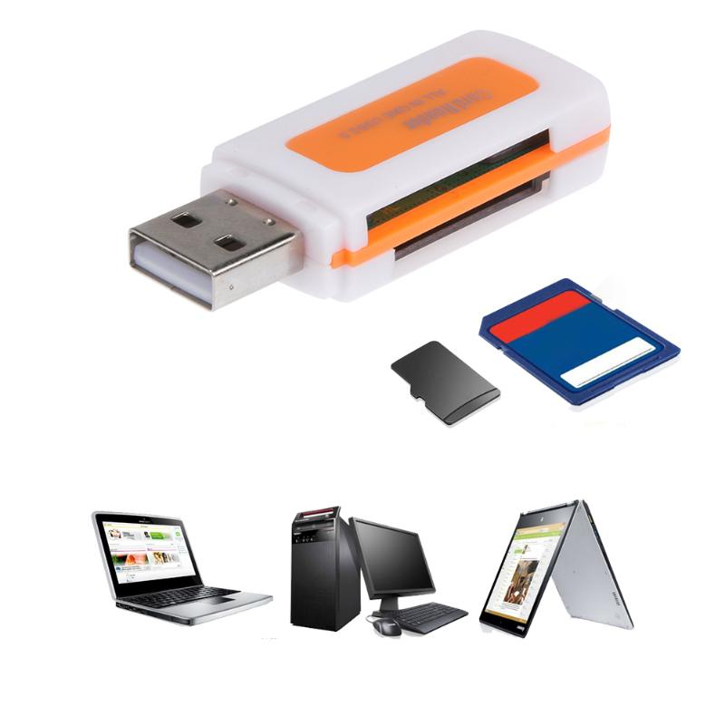 Mini All in One USB 2.0 Smart Card Reader